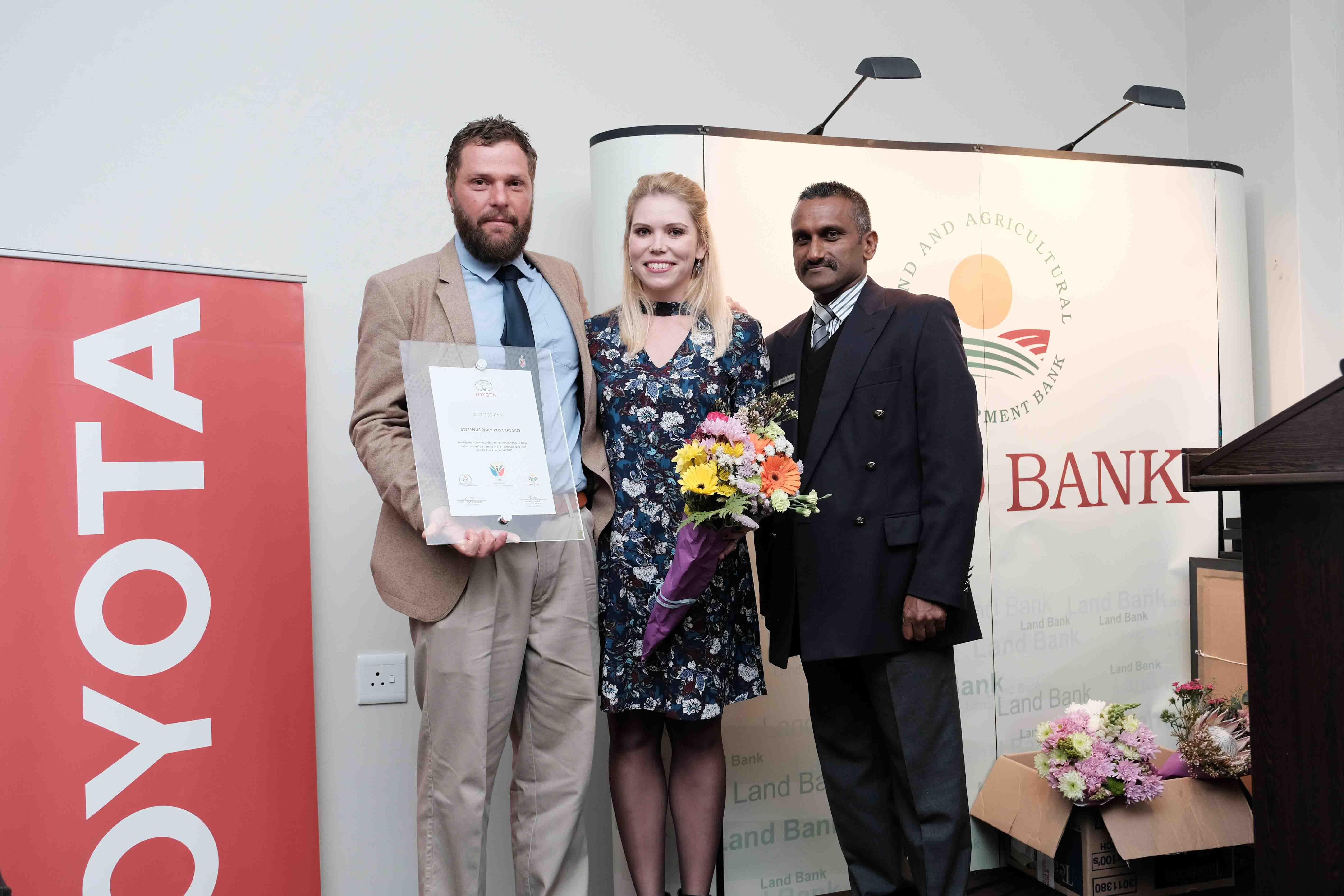 Stefan Erasmus - EC Young Farmer of the Year