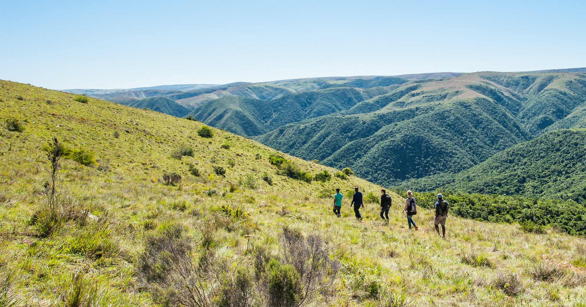 Explore Addo's Zuurberg section on foot