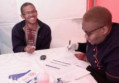 Engen Driver Wellness sees truck drivers roll up their sleeves and get tested