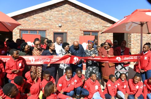 From a shack to a brand new building: New hope for vulnerable children