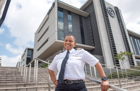 SA's first black female commercial pilot is an inspiration!
