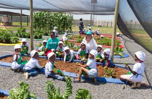 Off the grid community garden initiative yields a rich harvest