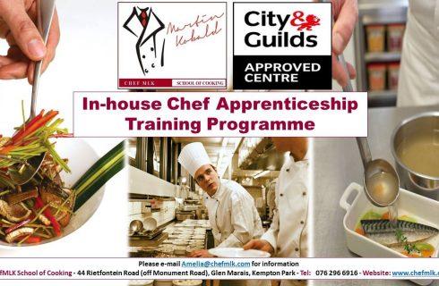 ChefMLK launches in-house apprenticeship programme