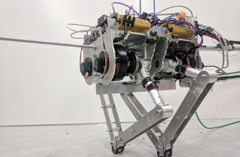 SA jumps for joy as UCT students build Africa's first jumping robot!