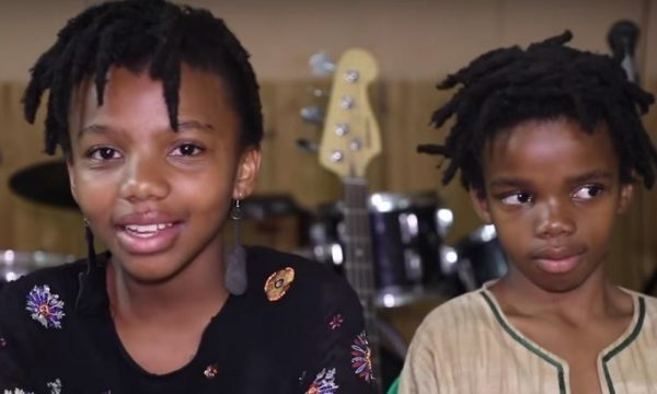 Pint sized brother and sister duo inspire with their amazing musical ability