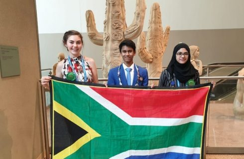 Three young South Africans scoop prizes at International Science Fair