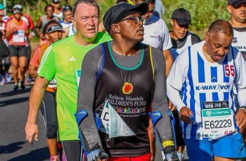 Two Oceans 'crutch runner' aiming even higher