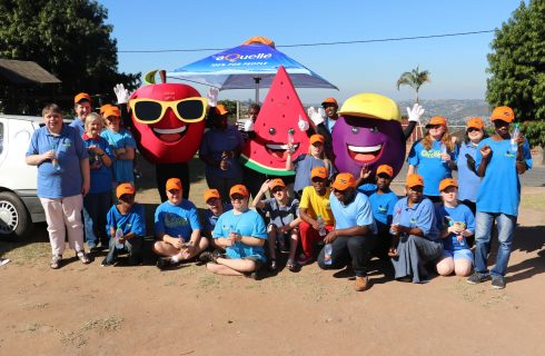 aQuellé travels SA to triple the joy to the needy