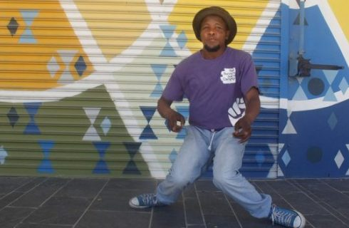 Khayelitsha's up and coming pantsula dancer