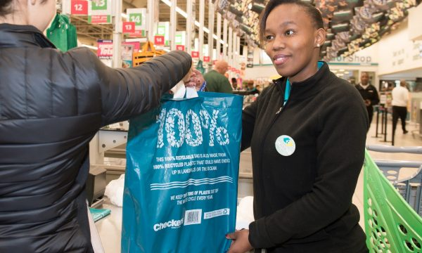 Shoprite and Checkers reward customers every time they re-use recycled bags