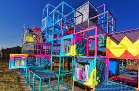 Massmart Launches Urban Bookshelf Project