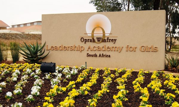 How Oprah is inspiring young South African women to empower communities globally