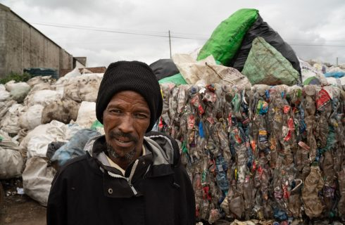 PET plastic bottles crest SA's recycling wave