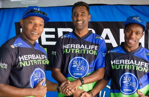 Herbalife Nutrition and Yamaha Distributors South Africa unveil bLU cRU partnership