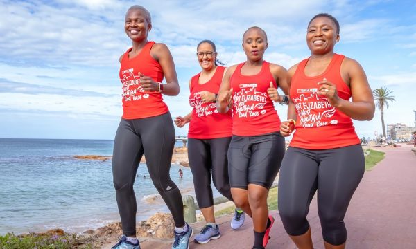On your marks, get set and go as runners break a sweat for the community in this years Women's Challenge