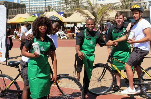 Starbucks prepares for its Durban opening