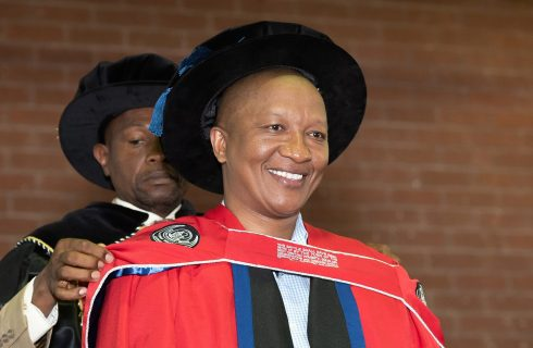 Property entrepreneur Ngebulana honoured by leading university