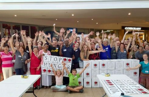 Centurion residents rise against hunger