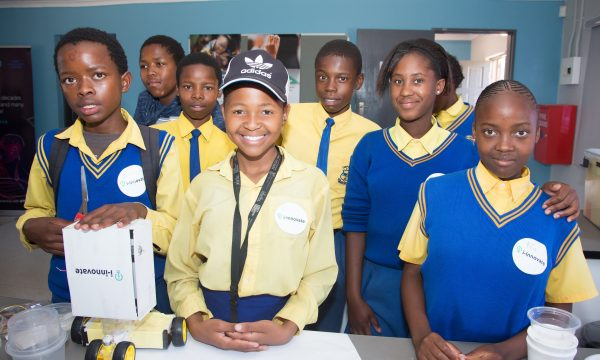 Diepsloot learners create solutions to community challenges, using Artificial Intelligence and Robotics skills