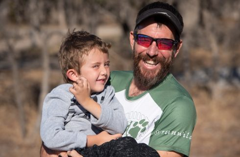 Running 100 miles for boy with Congenital Muscular Dystrophy