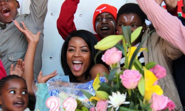 Miss Soweto Dedicates Her Birthday to the Children Of Soweto
