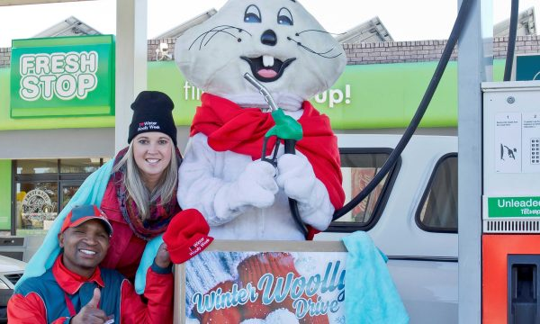 Fueling the love for Community Chest Winter Woolly Drive