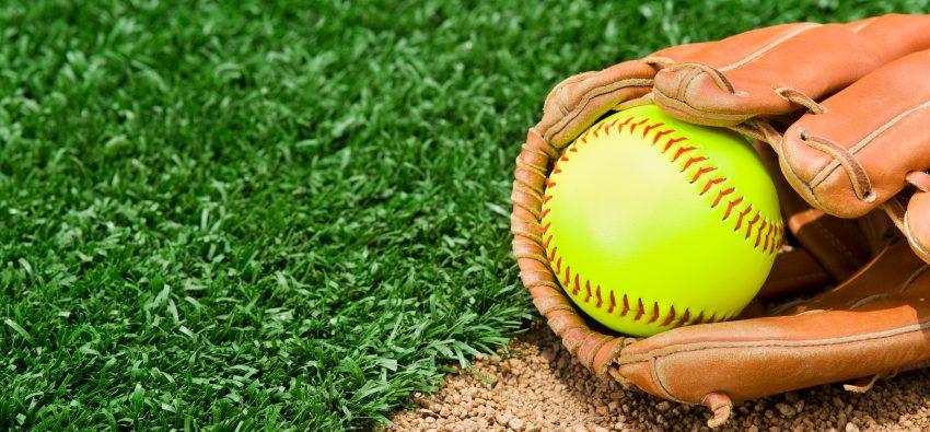 New Softball and bat