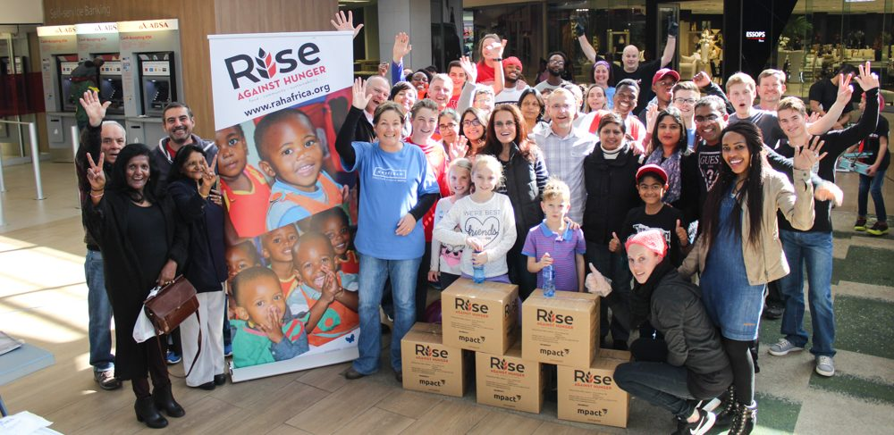 Centurion packs 44,000 meals for the hungry