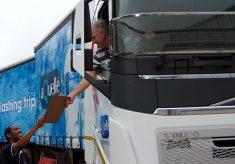 aQuellé MD delivers water aid to crisis-hit Cape