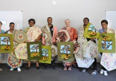 Clover Mama's gather for the last quilting course of 2018
