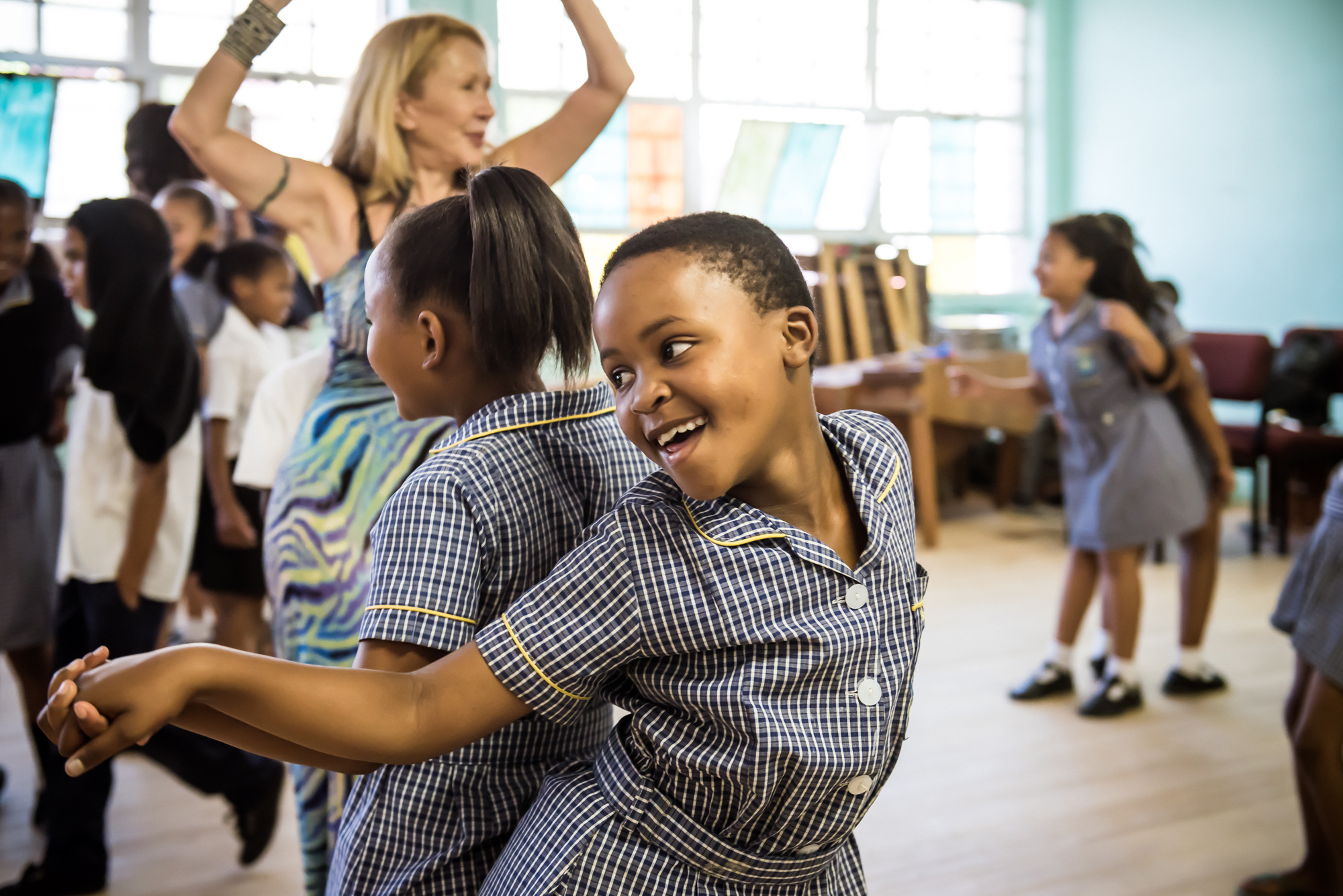Dancing Back to School: WISE launches dance assembly