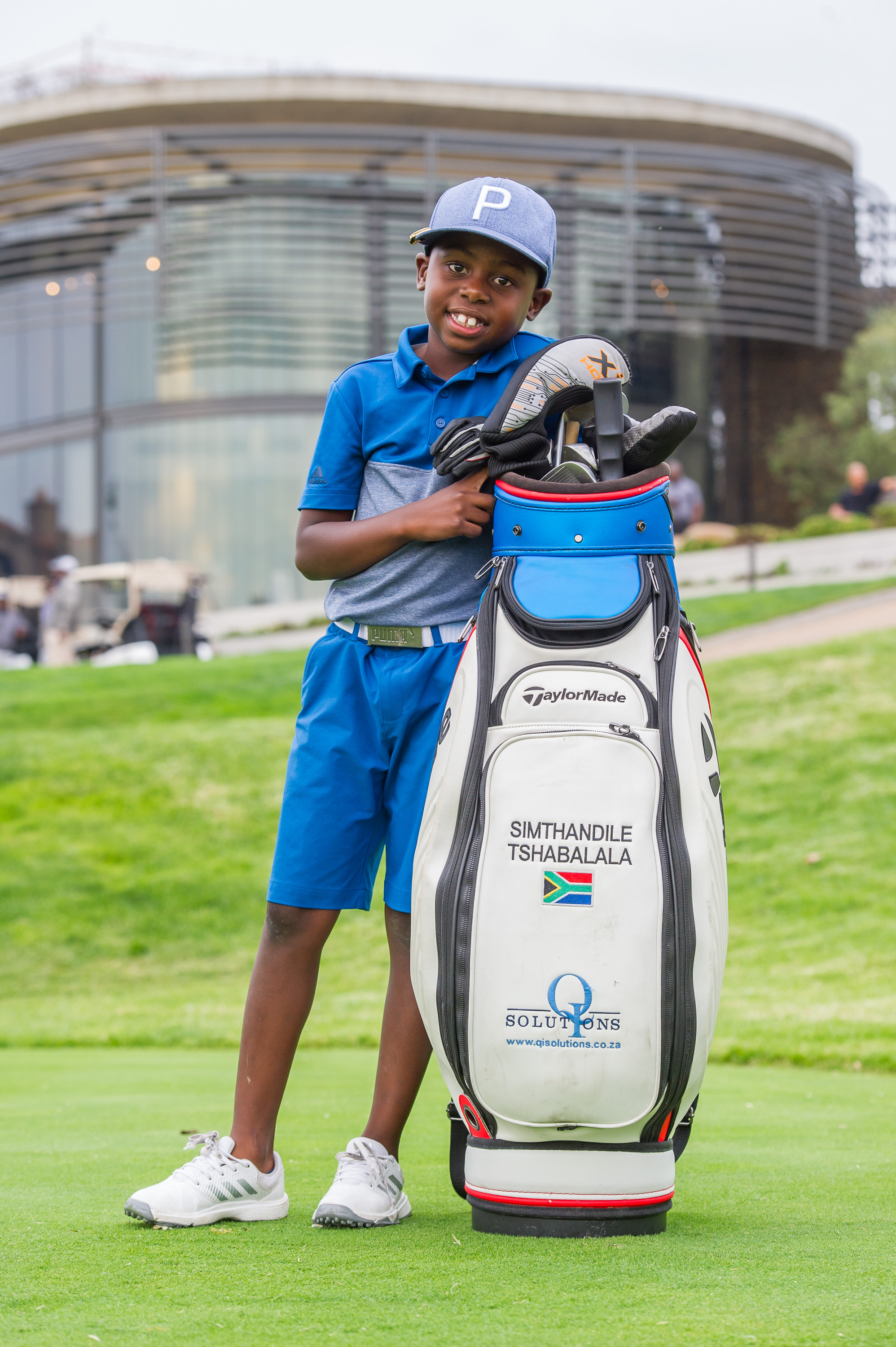 South African golfer Simthandile Tshabalala. Pic credit: Good News Daily