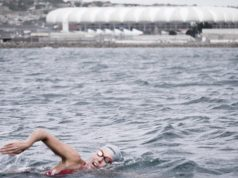 swim across Nelson Mandela Bay