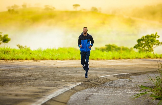 Jogging during Coronavirus